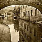 Rochdale Canal, Hebden Bridge by Stephen Knowles