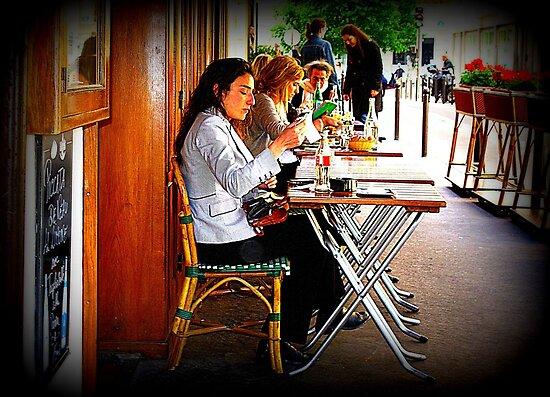 That 'Paris Cafe' Feeling... by Michael J Armijo