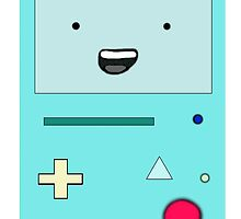 BMO Adventure Time Phone Case by Jamiekess