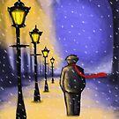 Silent night  by Kimberly mattia