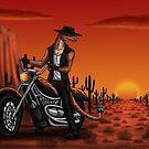 Desert ride  by Kimberly mattia