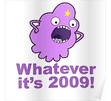 lumpy space princess 2009 Poster