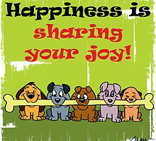 Happiness is sharing by acroanim