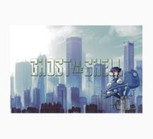 Ghost in the shell - chibi city by thias13