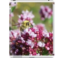 Bees and their Flowers iPad Case/Skin