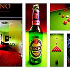 A Game Of Snooker & A Becks by ©The Creative  Minds