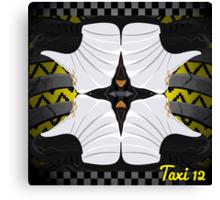 """Jordan """"Taxi"""" 12s Canvas Print"""