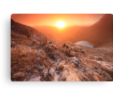 Cradle Mountain Sunrise Magic Canvas Print