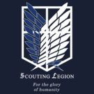 Attack on Titan SCOUTING LEGION Blue Survey Recon Corps by kinxx