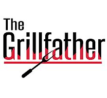 The grillfather Photographic Print