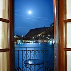 Moonlight Serenade in Kastellorizo by Hercules Milas