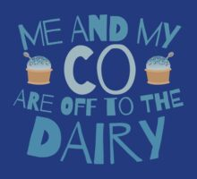 Me and my co are off to the dairy funny New Zealand kiwi saying by jazzydevil