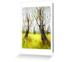 Carpets of Gold Greeting Card