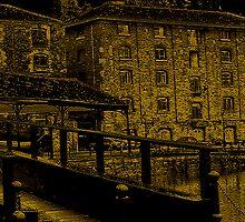Iron Bridge Into Exeter by Vy Solomatenko