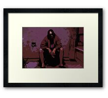 The Big Lebowski Painting Framed Print