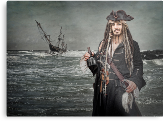 Captain Jack Saves The Rum by Patricia Jacobs CPAGB LRPS BPE3