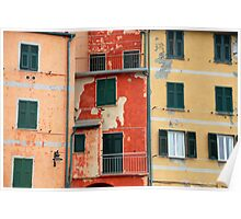 All About Italy. Piece 5 - Riomaggiore Colors Poster
