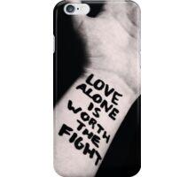 Love Alone. iPhone Case/Skin