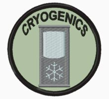 Cryogenics Geek Merit Badge by storiedthreads