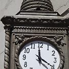 Classic Beehive Clock, Chelsea, New York City by lenspiro