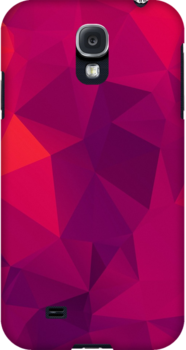 Pink Gradient Polygon by NeoIno