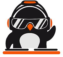 Penguin deejay mixer by Style-O-Mat