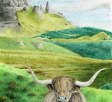 Heelin Coo by Eleanor Milligan