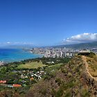 Lookout to Honolulu by Lucy Adams