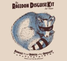 Raccoon Disguise Kit - Brown & Blue by Lee Bretschneider