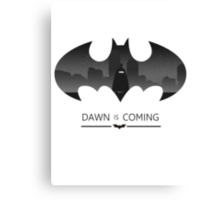 Dawn is Coming Canvas Print