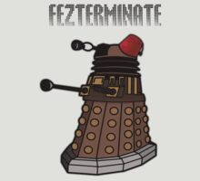 Dalek Fezterminate by IulianaTuiu