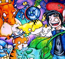 pokemon on acid by brenduhzombie