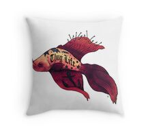 Born Fighter Throw Pillow