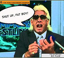Ric Flair Comic Frame by TruthtoFiction