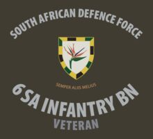 SADF 6 SA Infantry Battalion Veteran Shirt by civvies4vets