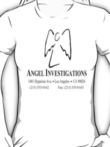 "Angel Investigations (From the series ""Angel"") T-Shirt"