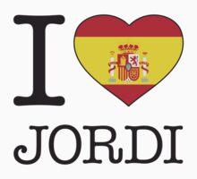 I ♥ JORDI by eyesblau