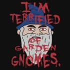 I'm terrified of garden gnomes by ChrisButler