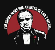 Don Vito Corleone logo by Buby87