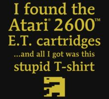 I found the ET cartridges (Green) T-Shirt