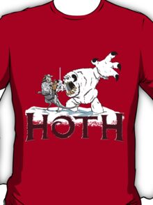 The Frozen Planet of Hoth T-Shirt