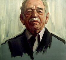 Gabriel García Márquez by Alejandro  Cabeza