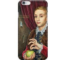 The Grand Budapest presents Boy With Apple iPhone Case/Skin