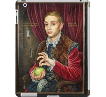 The Grand Budapest presents Boy With Apple iPad Case/Skin