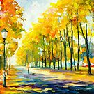 FALL'S PATH by Leonid  Afremov
