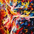 WHIRLWIND DANCE by Leonid  Afremov