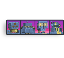 Mutant Gangland Robot Bosses Canvas Print