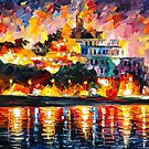ANCIENT HARBOR by Leonid  Afremov