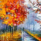 OCTOBER FOG by Leonid  Afremov