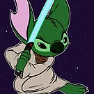 Yoda Stitch by Macaluso